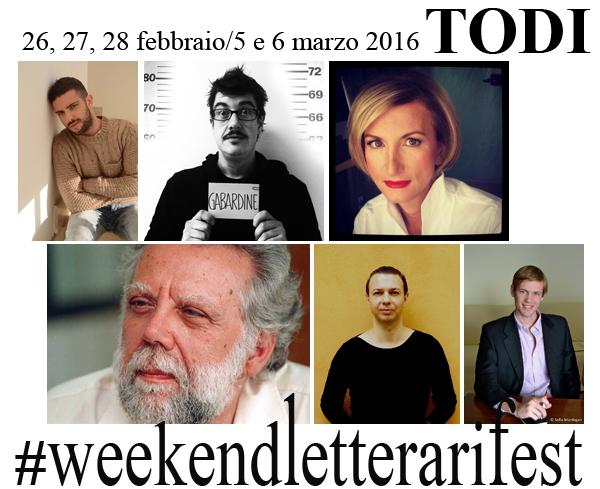 Weekendletterari Fest 2016, il programma del 26, 27 e 28 febbraio