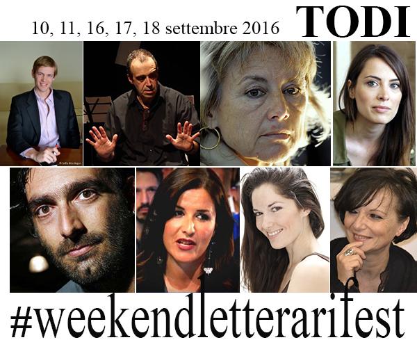 Weekendletterari Fest 2016, il programma del 10 e 11 settembre